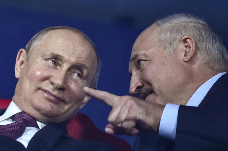 Vladimir Putin, Aleksandar Lukašenko