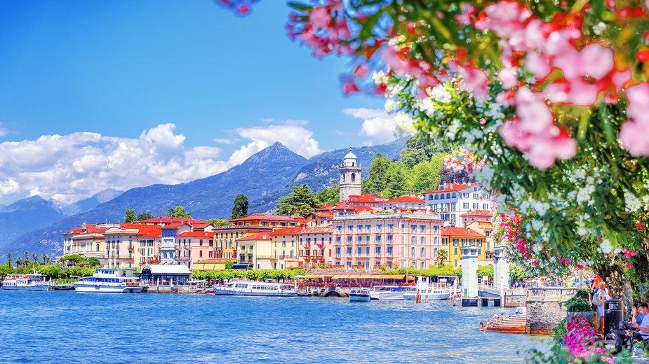 Bellagio, Jezioro Como, Włochy
