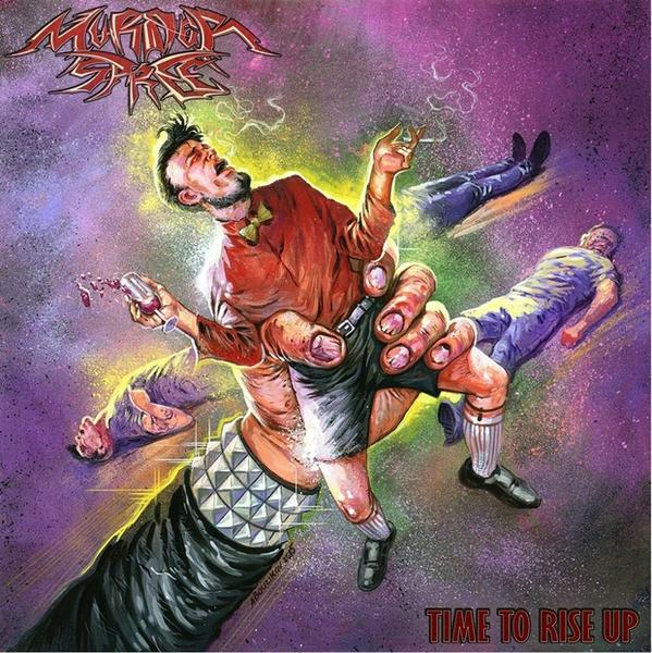 "MURDER SPREE – ""Time To Rise Up"""