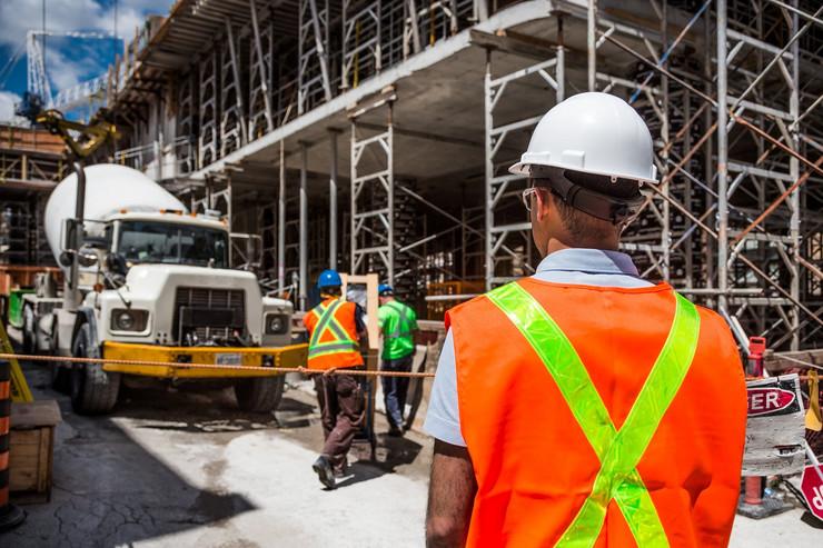 radnici, građevina, radnik