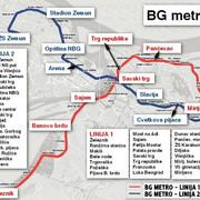 metro mapa prava
