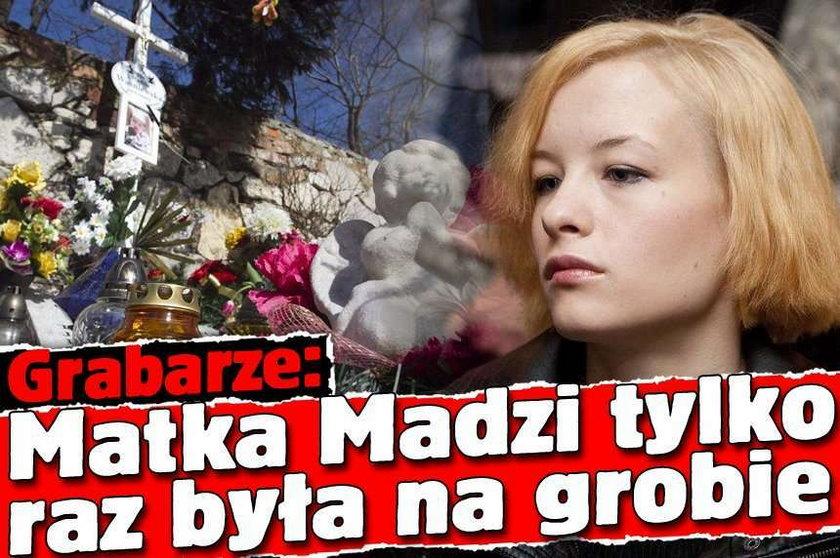 Grabarze: Matka Madzi tylko raz była na grobie