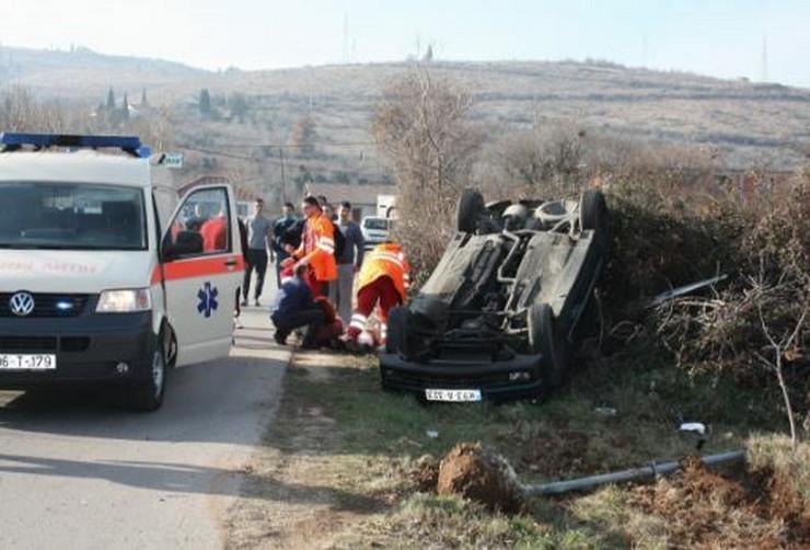 Mostar nesreca devojke povredjene