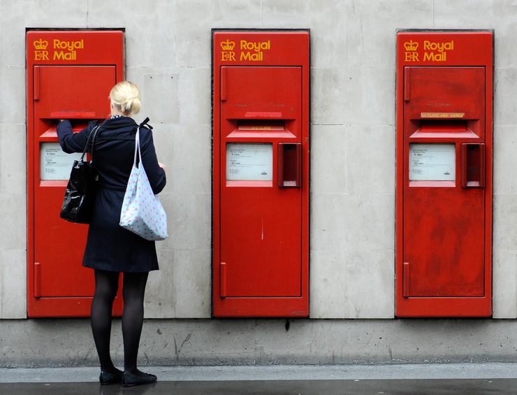 Britanska pošta Royal mail