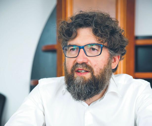 Piotr Woźny, prezes Narodowego Funduszu Ochrony Środowiska i Gospodarki Wodnej fot. Wojtek Górski
