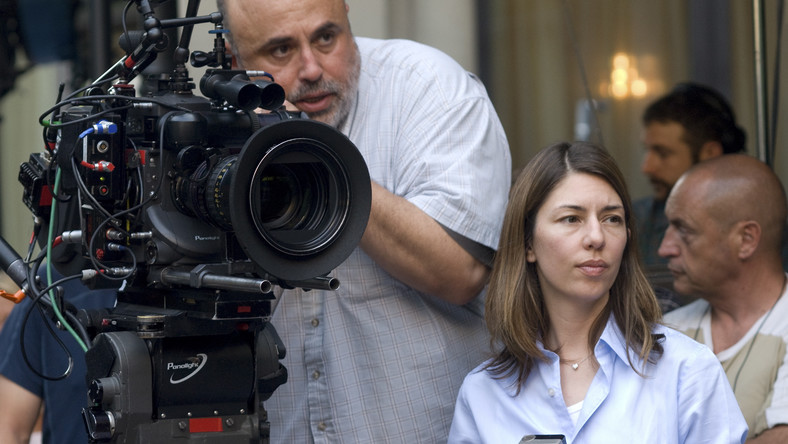 Sofia Coppola na planie Somewhere. Między miejscami