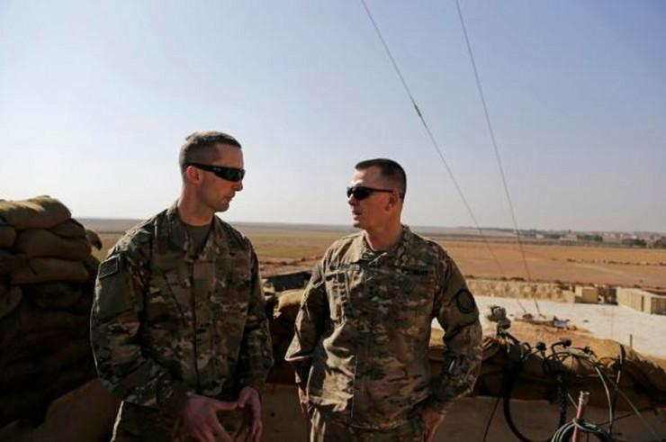 Sirija američka vojska AP