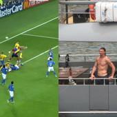 """Ibrahimović GOLIŠAV UŽIVA NA JAHTI, a Šveđani na dan ključnog meča na EURO """"prizivaju"""" njegovu ČUVENU """"ŠTIKLU"""" baš sa Evropskog prvenstva! /VIDEO/"""