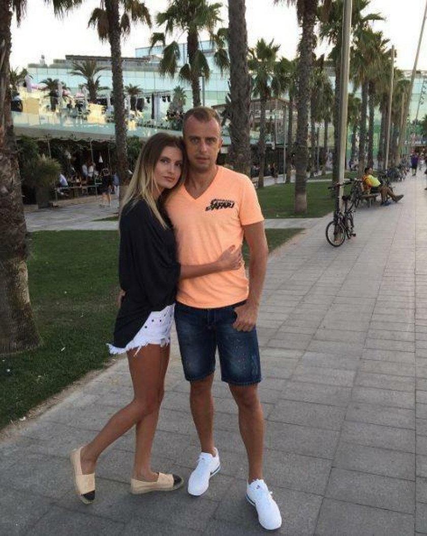 Kamil Grosicki i Dominika Grosicka