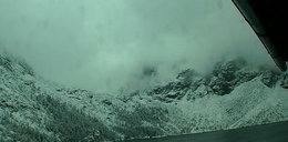Zima przyjdzie szybciej? W Tatrach spadł pierwszy śnieg