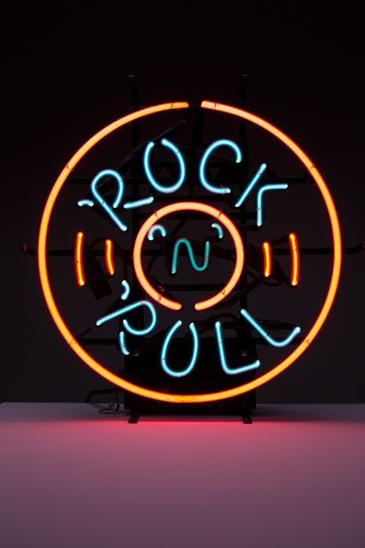 "Neon ""Rock 'n' Roll"" z ok. 2010 r."