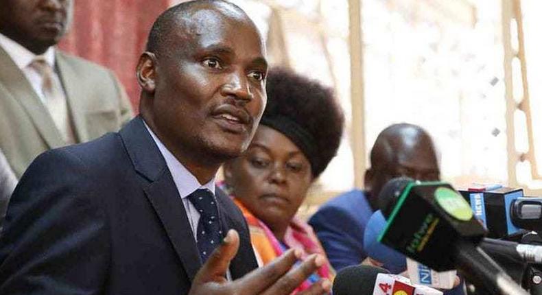 Minority Leader John Mbadi heckled after badmouthing DP Ruto at Suleiman Dori burial