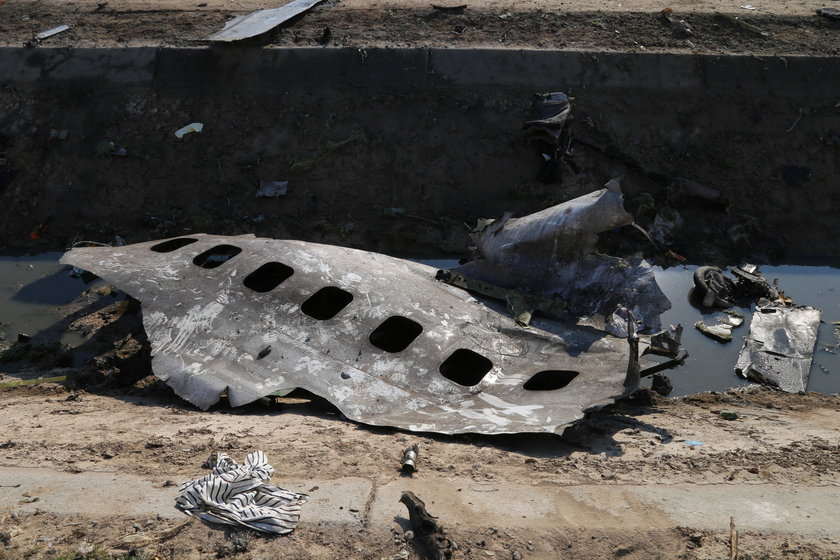 Zestrzelenie ukraińskiego samolotu nad Iranem