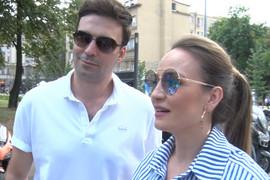 VELIKA ČAST Jelena Tomašević i Ivan Bosiljčić otišli na Krim, nećete verovati kakvu PRATNJU su imali do aerodroma (VIDEO)
