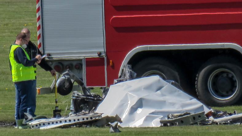 Katastrofa samolotu na lotnisku w Przylepie