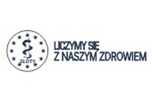 """Logo kampanii edukacyjnej: """"Liczymy się z naszym zdrowiem""""."""