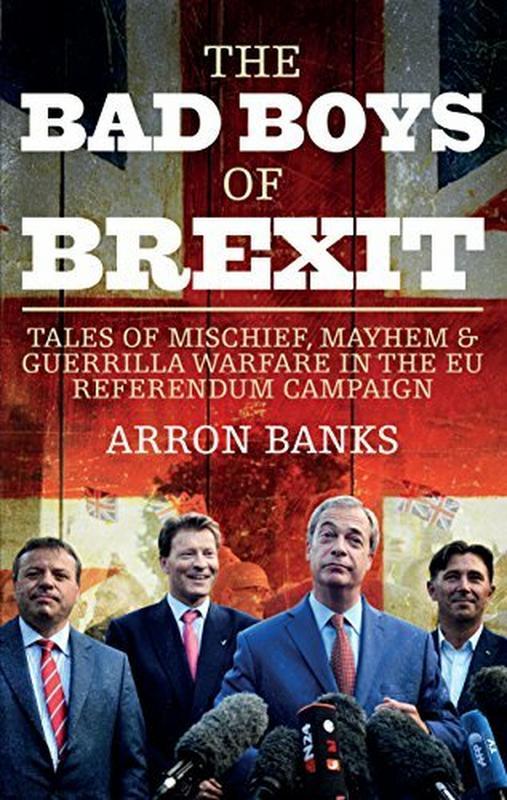 Okładka książki Arrona Banksa