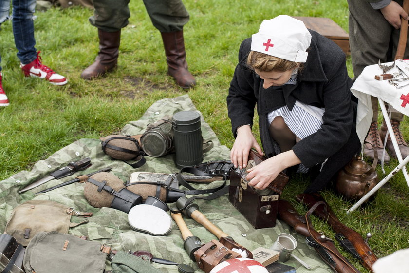 Sosnowiec. Piknik militarny z okazji 72. rocznicy zakończenia II wojny światowej