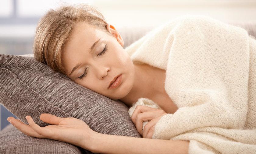 Kobieta, sen, spać