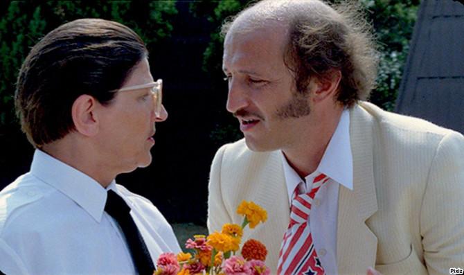 Mira Banjac sa Petrom Božovićem u filmu