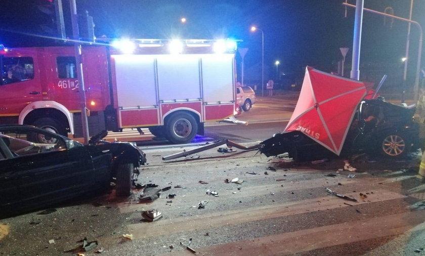 Tragiczny wypadek w Rzgowie.