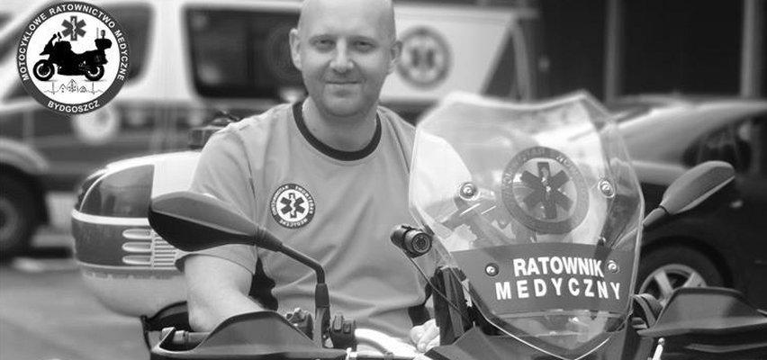 Jechał ratować ludzkie życie, zginął w wypadku