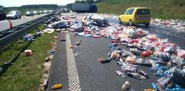 Autostrada zablokowana, a płacić każą