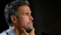 Spain coach Luis Enrique was appointed to oversee change after disappointment at the 2018 World Cup Creator: JAVIER SORIANO