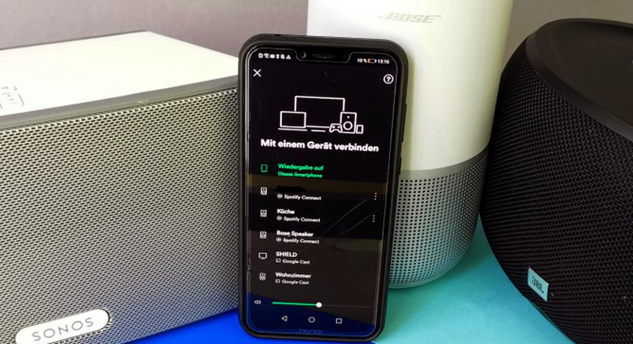 Ratgeber Spotify Connect: Vernetzte Lautsprecher ab 40 €