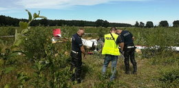 Wypadek szybowca koło Słupska. Zmarł ranny 16-latek