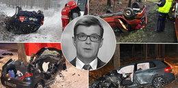 """Dziennikarz TVP nie zginął tu pierwszy. Miejscowi mówią, że to """"droga śmierci"""". Dlaczego giną tam ludzie?"""