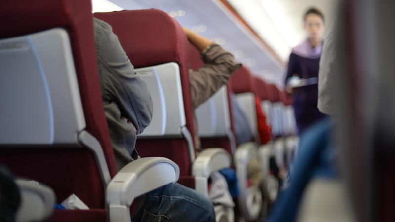 Na pokładzie samolotu