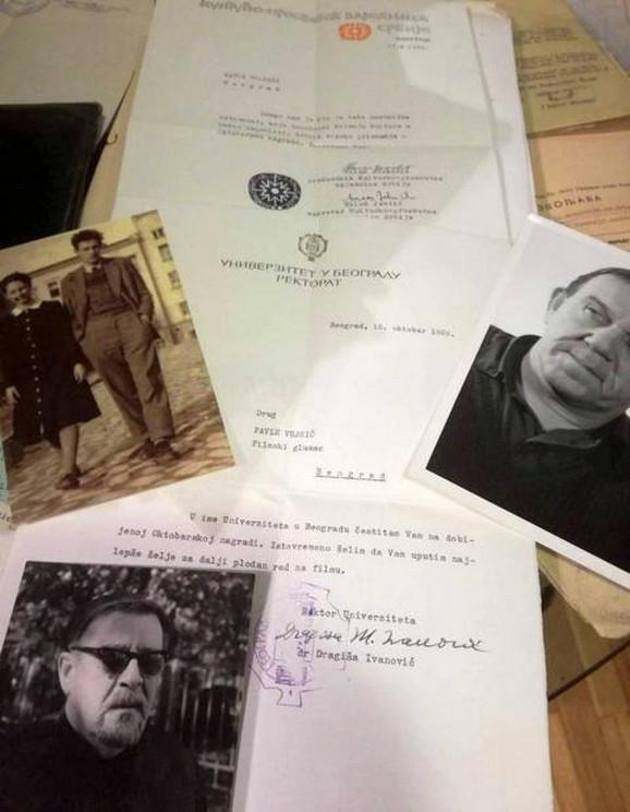 Nova dokumenta u legatu Pavla Vuisića