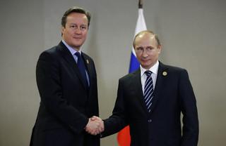 Cameron przekonuje: W sprawie Syrii musimy porozumieć się z Putinem