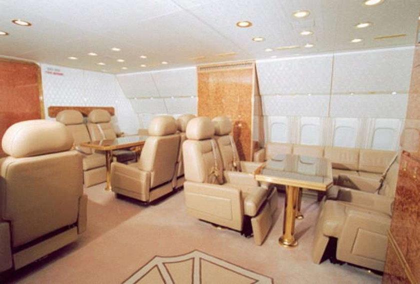 Tak wygląda samolot Putina