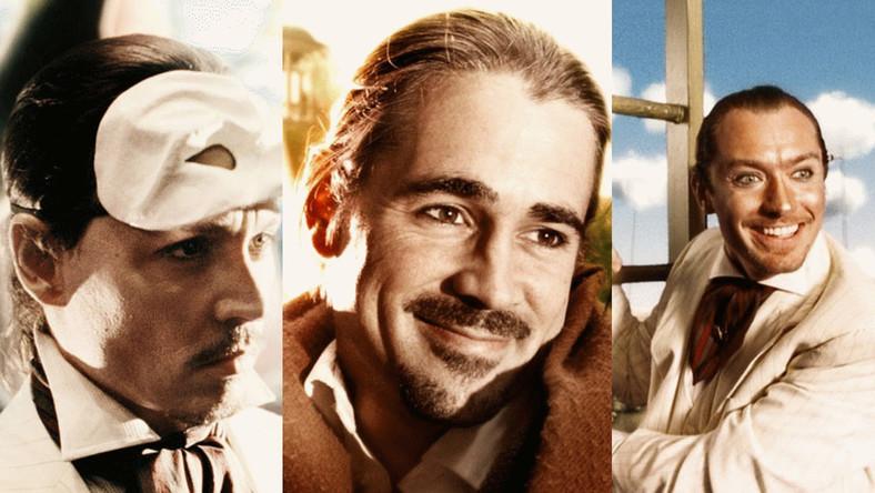 "Jonny Depp, Colin Farrell, Jude Law w filmie Terry'ego Gilliama ""Parnassus"""