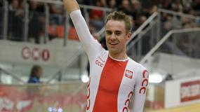 MŚ w kolarstwie torowym: Wojciech Pszczolarski wywalczył brązowy medal w wyścigu punktowym