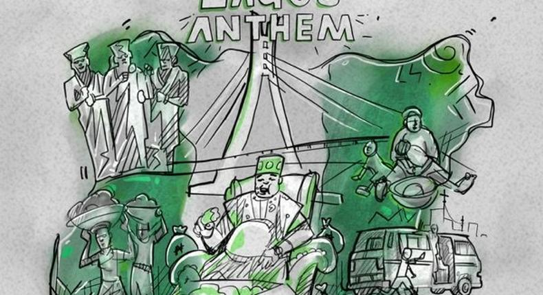 Zlatan makes a 'Lagos Anthem.' (ZANKU)