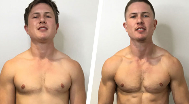 How Getting Shredded Helped This Trans Man Find His Confidence