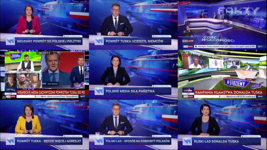 "Fragment ""Faktów"" TVN"