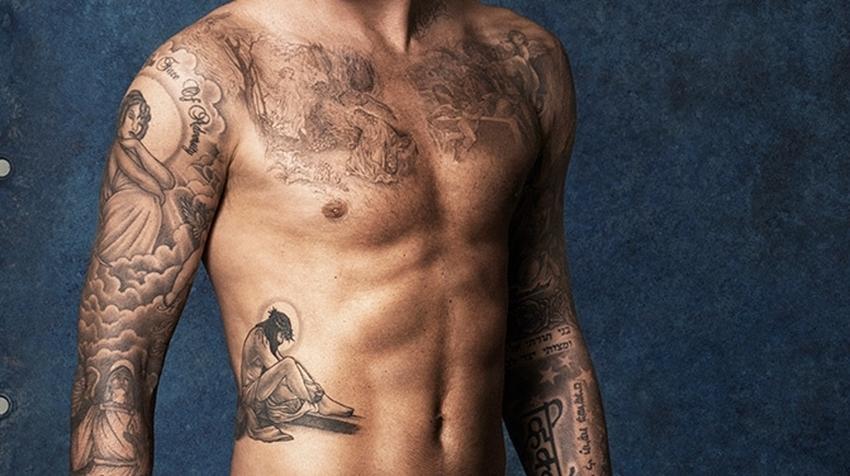 Tatuaze Davida Beckhama Co Znacza Tatuaze Beckhama