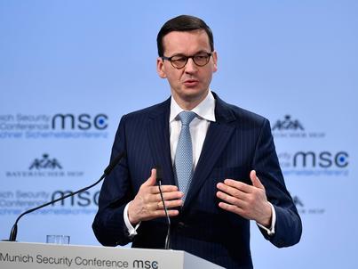 Mateusz Morawiecki powiedział, że polski rząd popiera elastyczne alokowanie części środków z budżetu UE
