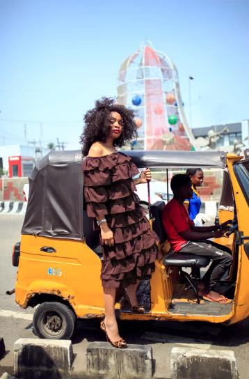 Beauty in the chaos at Ajose Adeogun [Bella Naija Style]