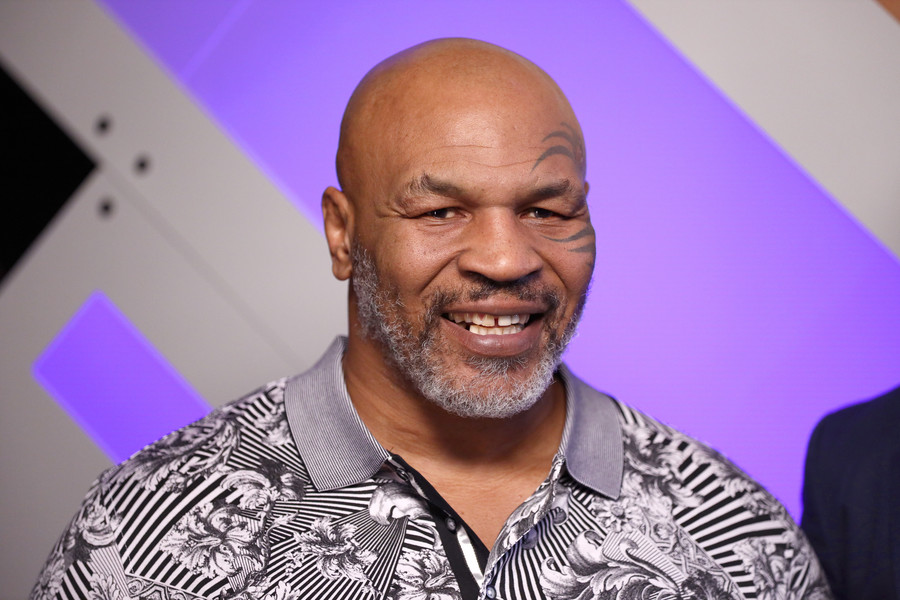 Mike Tyson fot. Rich Polk / Stringer/ GettyImages