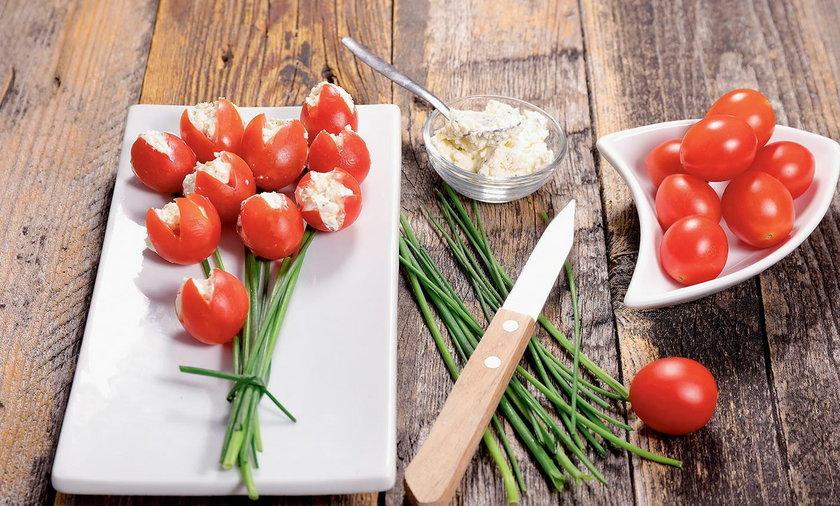 Bryndza i pomidor . Jak połączyć bryndzę i pomidora?