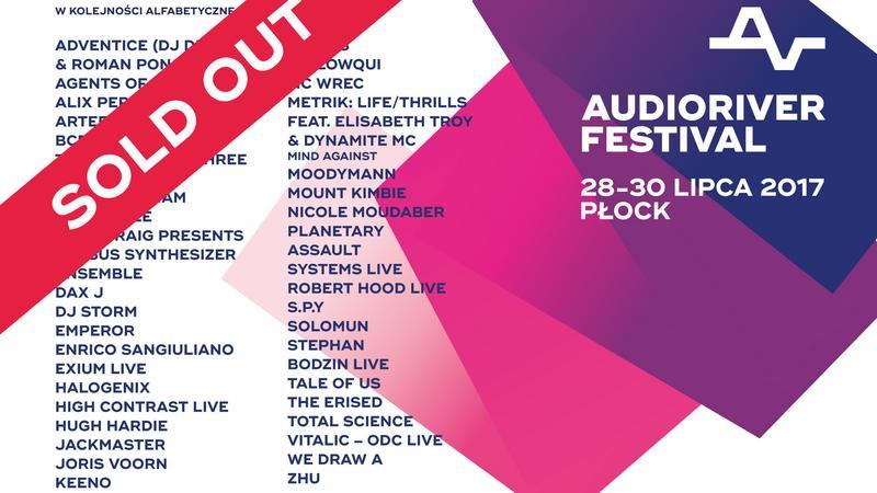 Audioriver 2017 - plakat