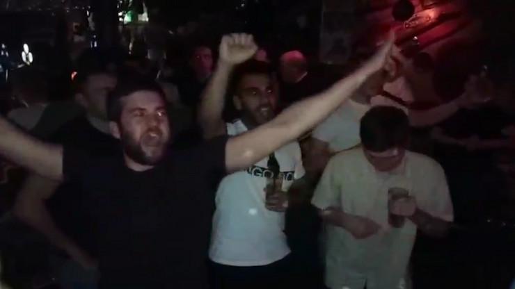 Navijači Junajteda u Beogradu