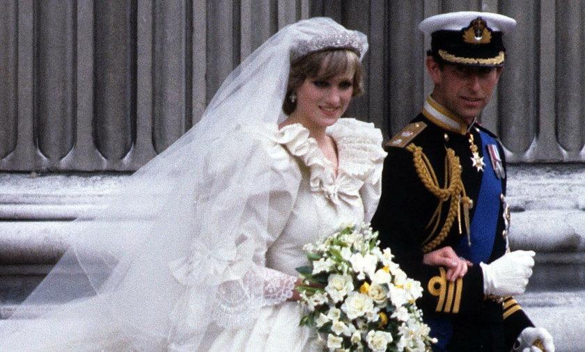 Diana po ślubie podcięła sobie żyły. To nie jedyny ślubny skandal na dworze