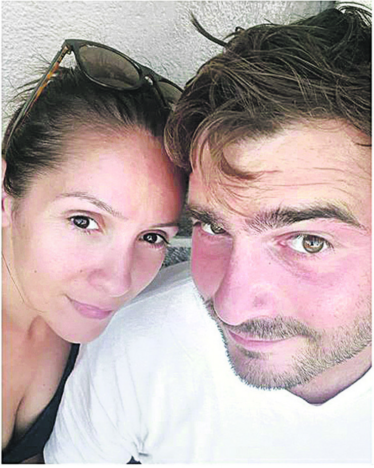 Ana Franić sa bivšim suprugom