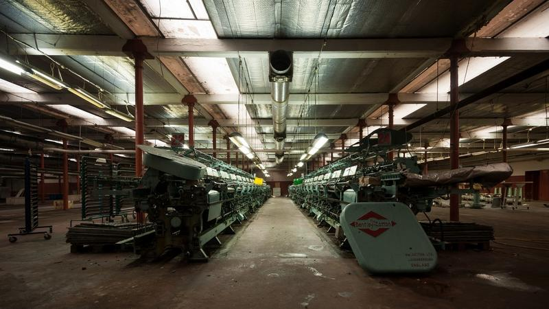 Opuszczona fabryka Jarocińskiego w Łodzi